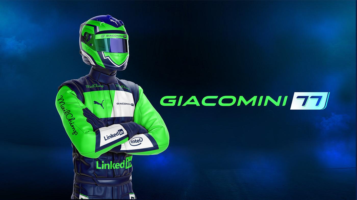 Branding Giacomini - Racing Driver